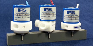 IPS PTFE Submini Solenoid Valves